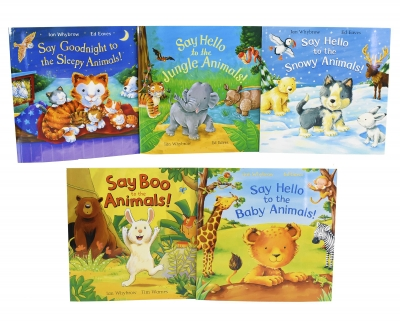 Say Hello To The Animals 5 Books Collection Set By Ian Whybrow by Ian Whybrow