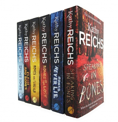 Kathy Reichs Temperance Brennan Collection 6 Books Set Series 3 - Speaking in Bones, Bones Never Lie, Bones of the Lost, Bones are Forever and More by Kathy Reichs