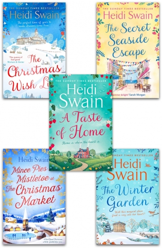 The Nightingale Square and Wynbridge Series 5 Books Collection Set by Heidi Swain by Heidi Swain