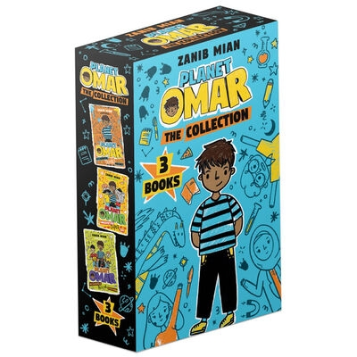 Planet Omar The Collection 3 Books Box Set by Zanib Mian (Accidental Trouble Magnet, Unexpected Super Spy & Incredible Rescue Mission) by Zanib Mian