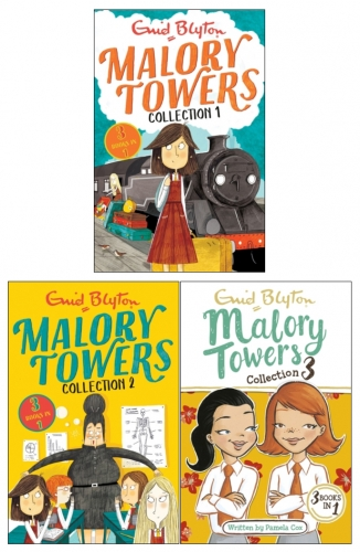 Enid Blyton Malory Towers 3 Books 9 Story Collection (3 Books in 1) by Enid Blyton