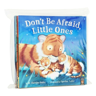 Bedtime Picture Series 10 Books Collection Set (Just One More, Scaredy Mouse, Goodnight Tiger, The Littlest Owl, I Cant Sleep, Pirates in Pyajamas) by Various