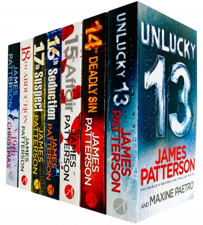 Womens Murder Club 7 Books Collection Set by James Patterson (Books 13 - 19) by James Patterson