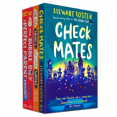 Stewart Foster The Bubble Boy 4 Books Collection Set (Check Mates, The Bubble Boy, The Perfect Parent Project, All the Things That Could Go Wrong) by Stewart Foster