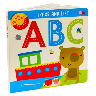 Trace and Lift ABC Childrens Early Learning Words Alphabet Books by Make Believe Ideas