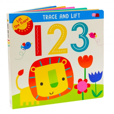 Trace and Lift 123 Childrens Early Learning Words Alphabet Books by Make Believe Ideas