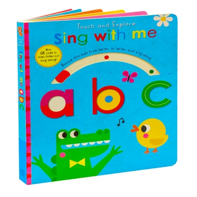Touch and Explore Sing with me abc Childrens Activity Books by Make Believe Ideas