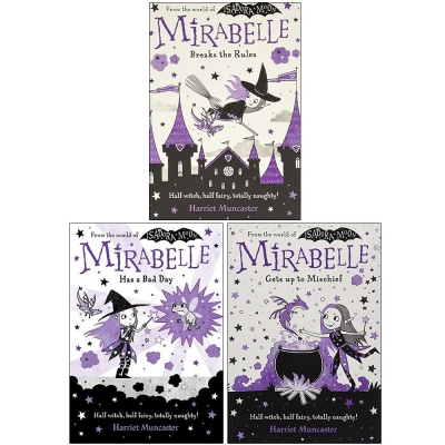 Harriet Muncaster Mirabelle Collection 3 Books Set (Mirabelle Breaks the Rules, Mirabelle Has a Bad Day, Mirabelle Gets up to Mischief) by Harriet Muncaster