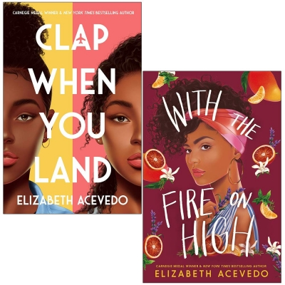 Elizabeth Acevedo 2 Books Collection Set (With the Fire on High & Clap When You Land) by Elizabeth Acevedo