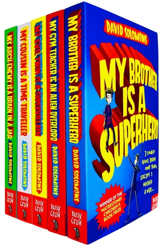 My Brother is a Superhero Series 5 Books Collection Set By David Solomons by David Solomons