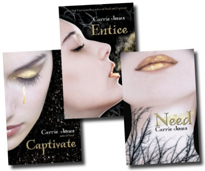Need Pixies Series Collection Carrie Jones 3 Books Set (Need, Captivate, Entice) by Carrie Jones