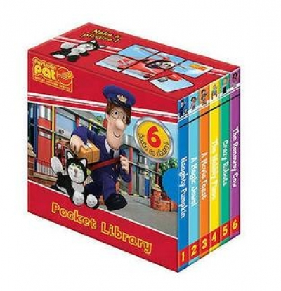 Postman Pat Pocket Library 6 Book Set collection by Postman Pat