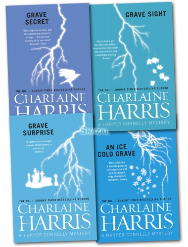 Charlaine Harris 4 Books Collection Set Pack Harper Connelly Mysteries Series by Charlaine Harris