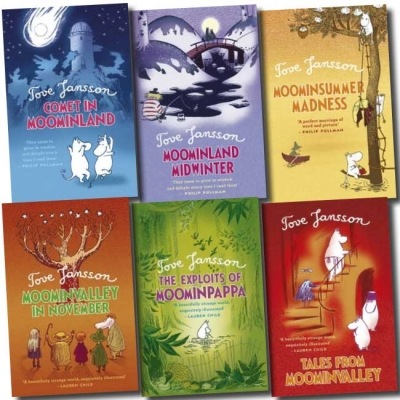 Moomins Collection Tove Jansson 6 Books Set Pack by Tove Jansson