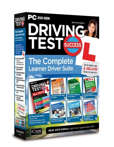 Driving Test Success the Complete Learner Driver Suite New Edition PC DVD by  Focus Multimedia Ltd