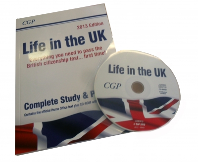 Life in the UK Complete Study & Practice Book + CD-ROM by Richard Parsons