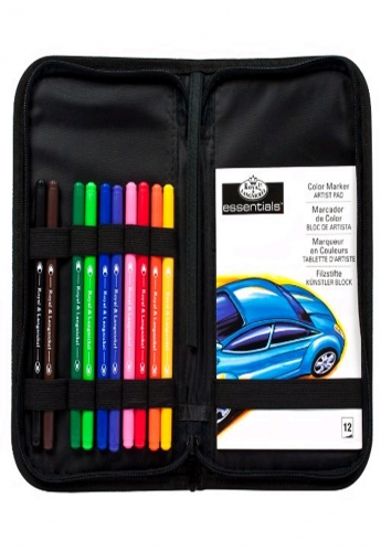 Royal & Langnickel Keep N' Carry Colour Marker Set by