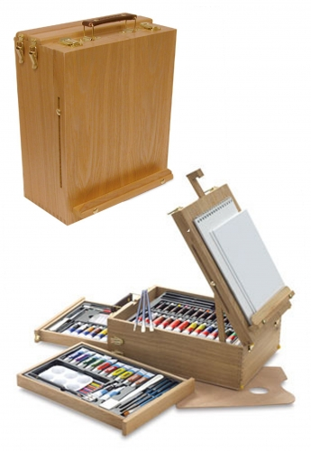 d02cc4e761be9 Royal Langnickel All Media Easel Artist Set 104 Piece | | Buy Books
