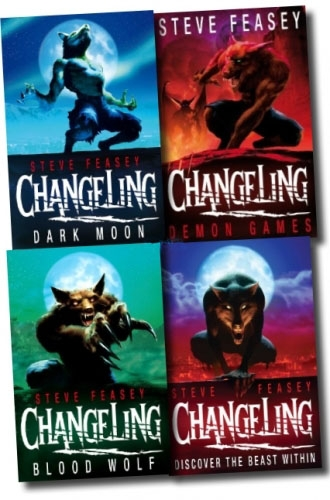 Changeling Collection Steve Feasey 4 Books Set Demon Games