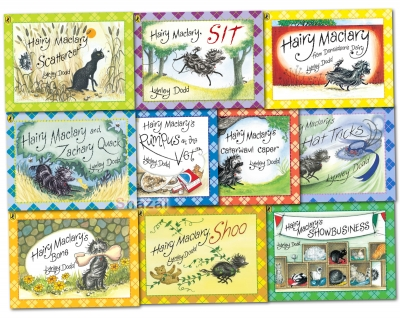 Hairy Maclary and Friends Collection Lynley Dodd 10 Books Set Pack by Lynley Dodd