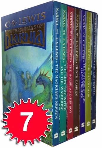 The Chronicles of Narnia 7 Books Box Set Collection C S Lewis Vol 1 to 7 by C S Lewis
