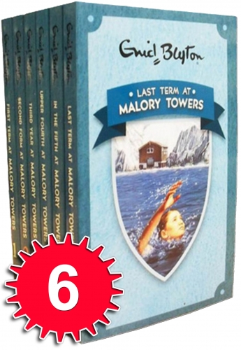 Enid Blyton - Malory Towers 6 Books Collection by Enid Blyton
