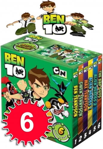 Ben 10 Little Library by Various
