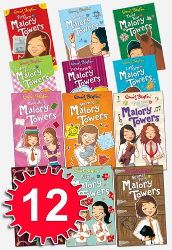 Enid Blyton Complete Malory Towers Collection 12 Books Set by Enid Blyton