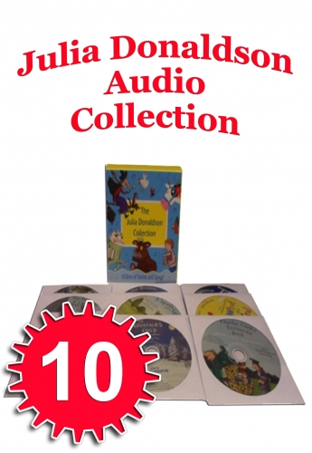 Julia Donaldson Collection 10 Audio CD Books Set Stories & Songs Gruffalo, Child by Julia Donaldson