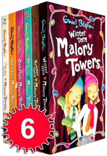 Enid Blyton Malory Towers Collection 6 Books Set Children Pack (7-12 Books) by Enid Blyton