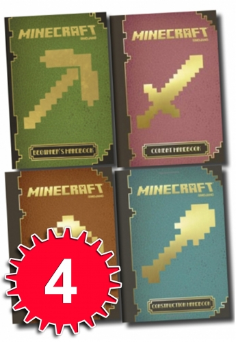 minecraft the complete handbook collection box set