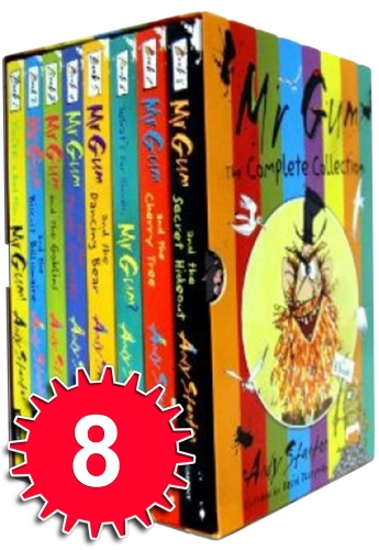 Mr Gum Collection 8 Book Set Pack Andy Stanton by Andy Stanton