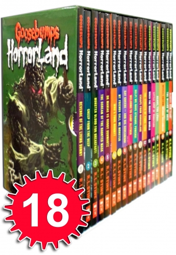 Goosebumps Horrorland Collection R L Stine 18 Books Set Horrible Historie Series by R. L. Stine