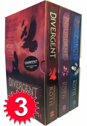 Divergent Insurgent Allegiant Trilogy 3 Books Collection Set by Veronica Roth by Veronica Roth