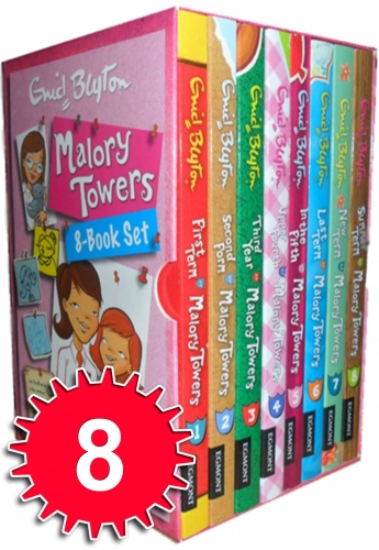 Enid Blyton Malory Towers 8 Books Collection Box Set by Enid Blyton