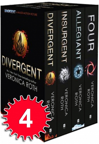 Divergent Insurgent Allegiant and Four 4 Books Collection Set by Veronica Roth by Veronica Roth