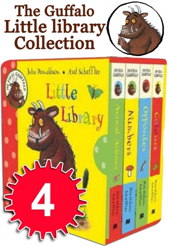My First Gruffalo Little Pocket Library 4 Books Collection Set Julia Donaldson by Julia Donaldson