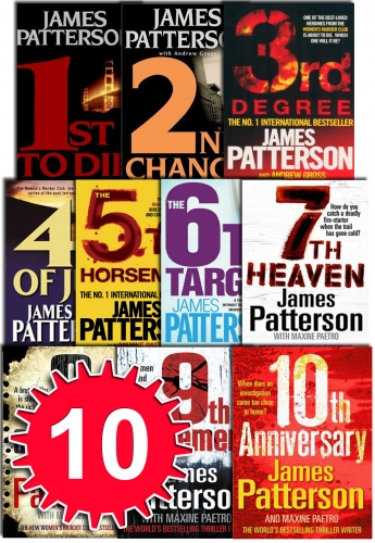 Womens Murder Club Collection James Patterson 10 Book Set (1 to 10) by James Patterson