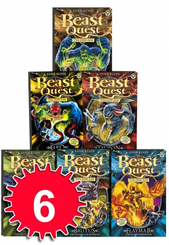 beast quest series 11 the new age 6 books collection set