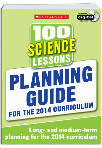 100 Science Lessons Planning Guide 2014 Curriculum CD-ROM Studybook Year 1-6 New by Scholastic
