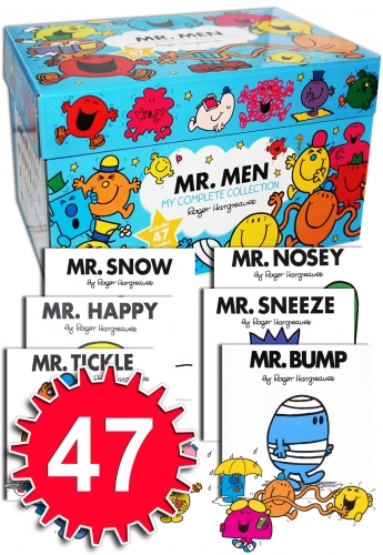 Mr Men My Complete Collection 47 Books Box Set by Roger Hargreaves