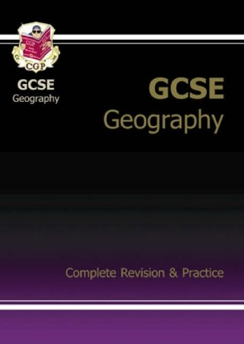 GCSE Geography Complete Revision & Practice Pt. 1 & 2 by CGP Books