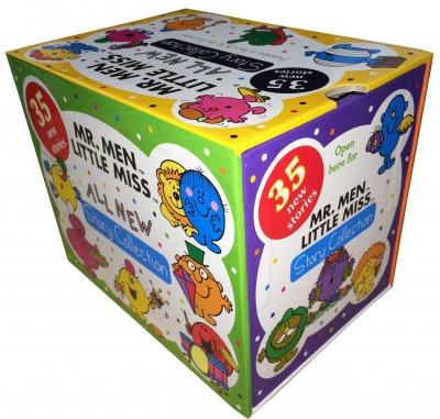 Mr Men Books and Little Miss All New Story Collection 35 Books Box Set by Egmont UK Ltd