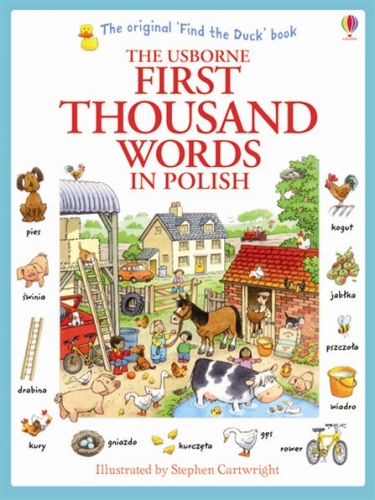 Usborne My First Thousand Words in Polish Book NEW Paperback by Usborne