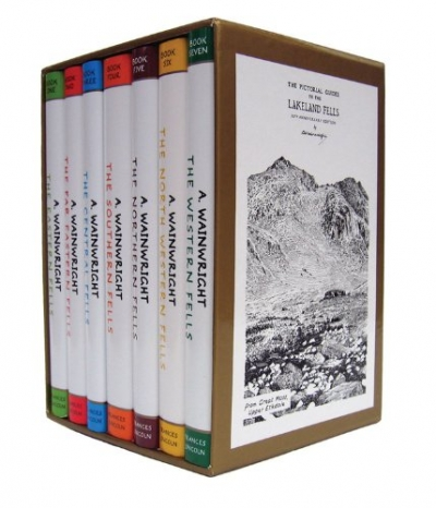 Pictorial Guide To the Lakeland Fells Collection 7 Books Set By Alfred Wainwright (50th Anniversary Edition) by Alfred Wainwright