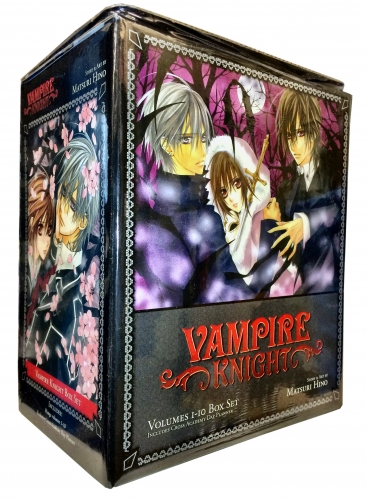 Vampire Knight Collection 10 Books Box Set Pack By Matsuri Hino (Volumes 1-10) by Matsuri Hino