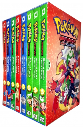Pokemon Adventures Ruby and Sapphire Collection 8 Books Box Set - Vol 15-22 by Hidenori Kusaka  (Author), Satoshi Yamamoto (Illustrator)