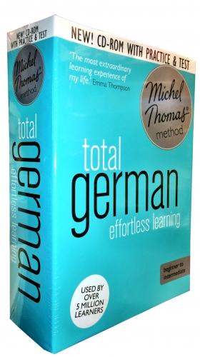 Total German with the Michel Thomas Method inc Practice and Test CD-Audio by