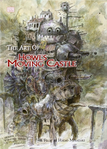 The Art of Howls Moving Castle Studio Ghibli Library by Hayao Miyazaki