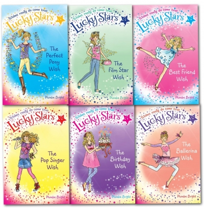 Lucky Stars Series Collection6 Books Set Plus Free six Charm by Pheobe Bright